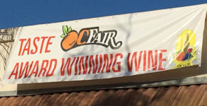 Taste Award Winning Wine Sign2